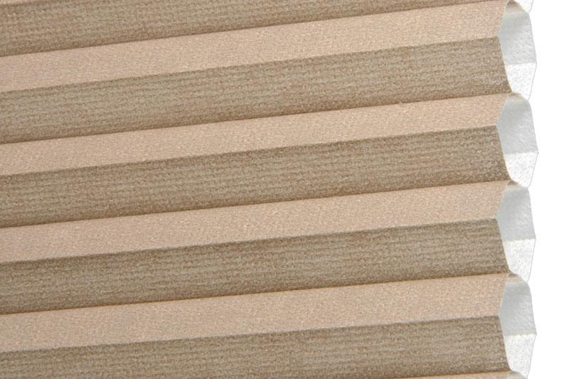 Plissee Graubeige Palma-170 Maßanfertigung