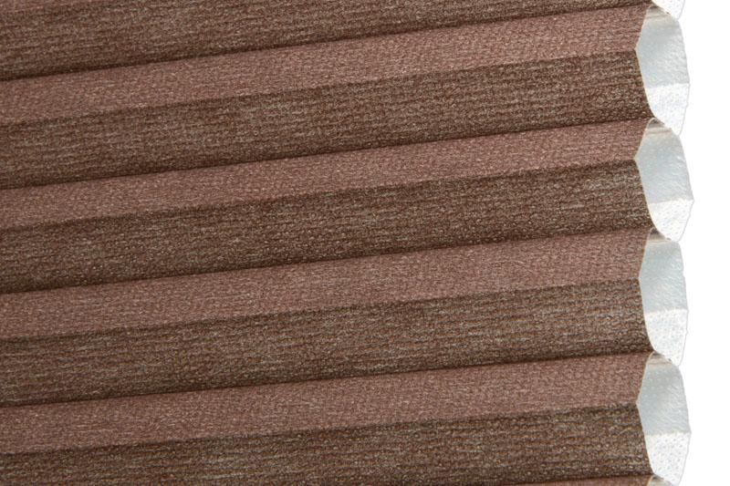 Plissee Braun Palma-180 Maßanfertigung
