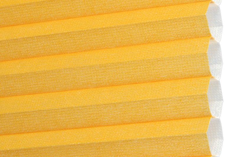 Plissee Orange Palma-360 Maßanfertigung
