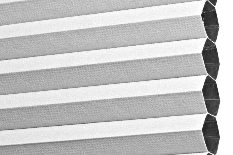 Plissee Weiß PalmaBO-5100 Maßanfertigung