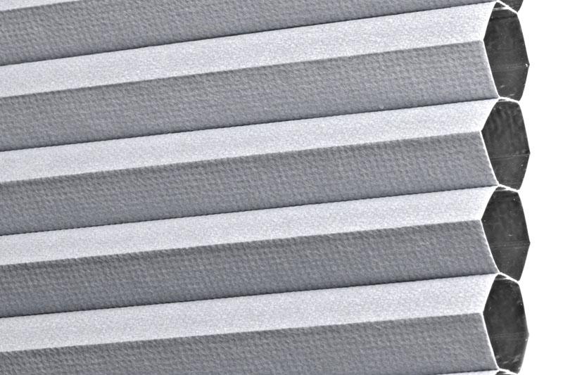 Plissee Grau PalmaBO-5220 Maßanfertigung