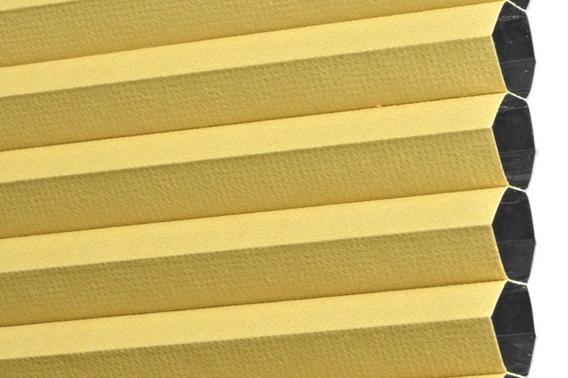 Plissee Gelb PalmaBO-5390 Maßanfertigung