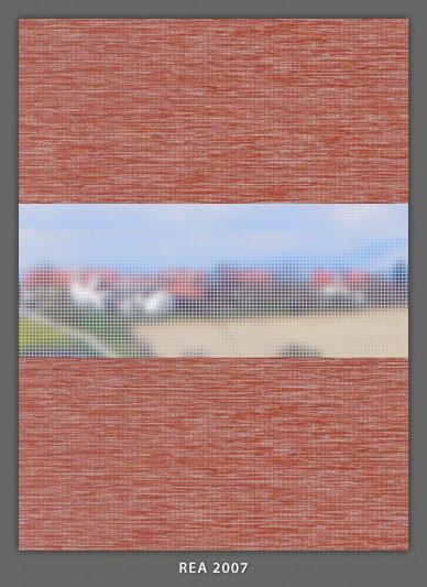 Doppelrollo Rot Rea-2007 Maßanfertigung
