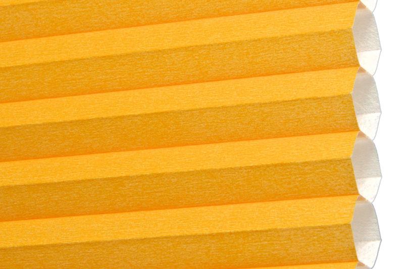 Plissee Orange Rioja-220 Maßanfertigung