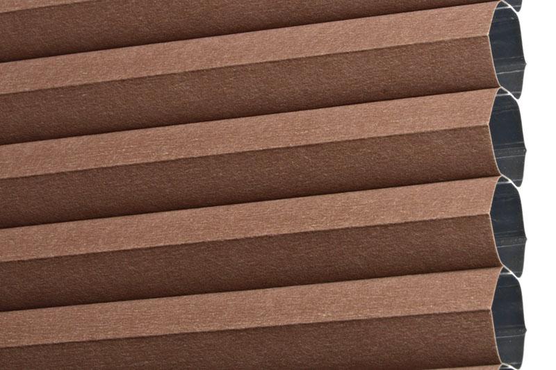 Plissee Braun RiojaBO-5160 Maßanfertigung