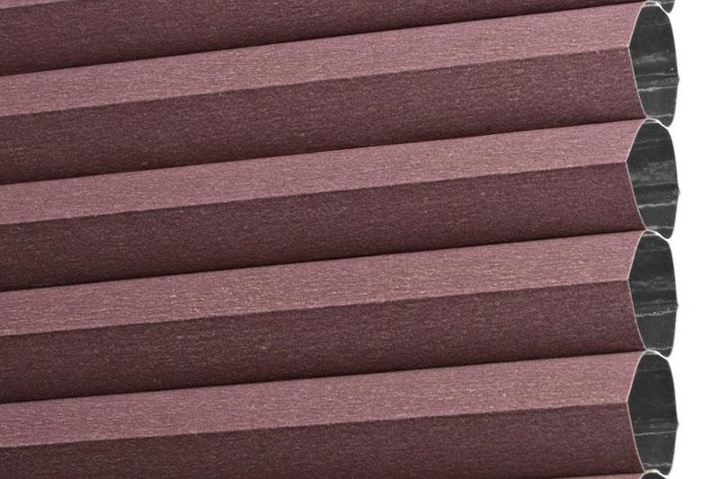 Plissee Pflaume RiojaBO-5200 Maßanfertigung
