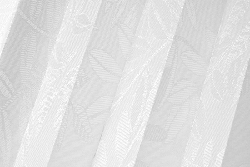 Plissee Weiß Samoa-1 Maßanfertigung