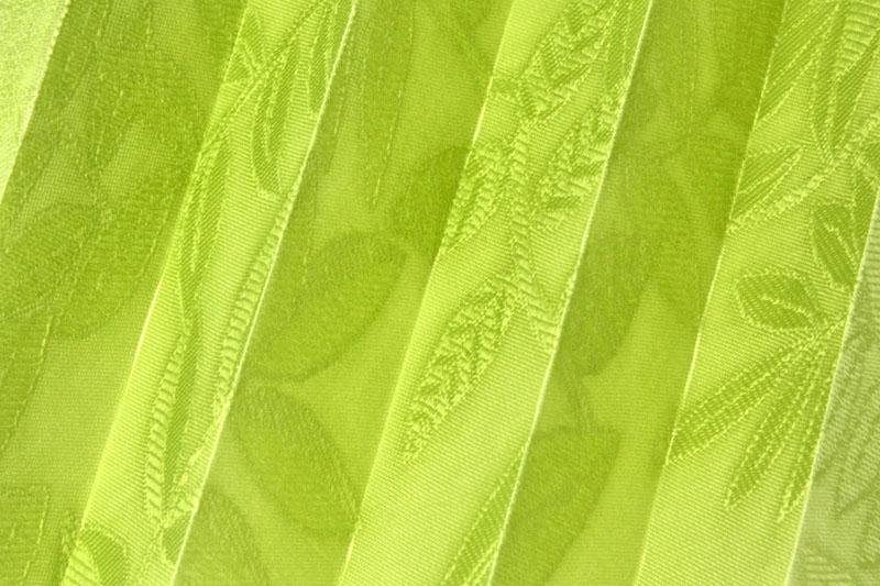 Plissee Grün Samoa-2 Maßanfertigung
