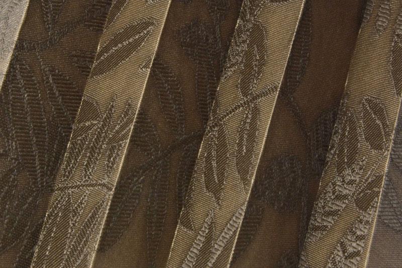 Plissee Braun Samoa-3 Maßanfertigung
