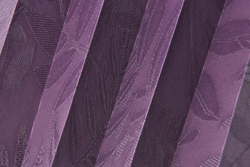 Plissee Violett Samoa-4 Maßanfertigung