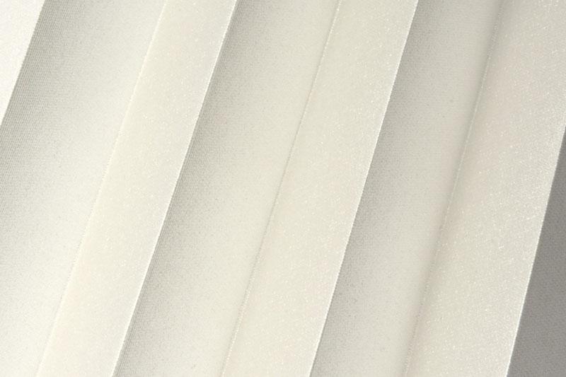 Plissee Cremeweiß Shine-1040 Maßanfertigung