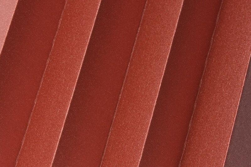 Plissee Braunrot Shine-1045 Maßanfertigung