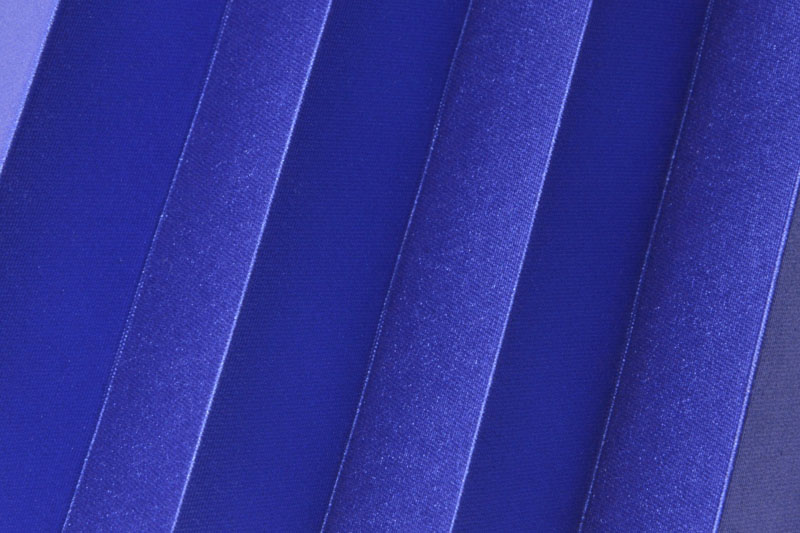 Plissee Marineblau Shine-1050 Maßanfertigung