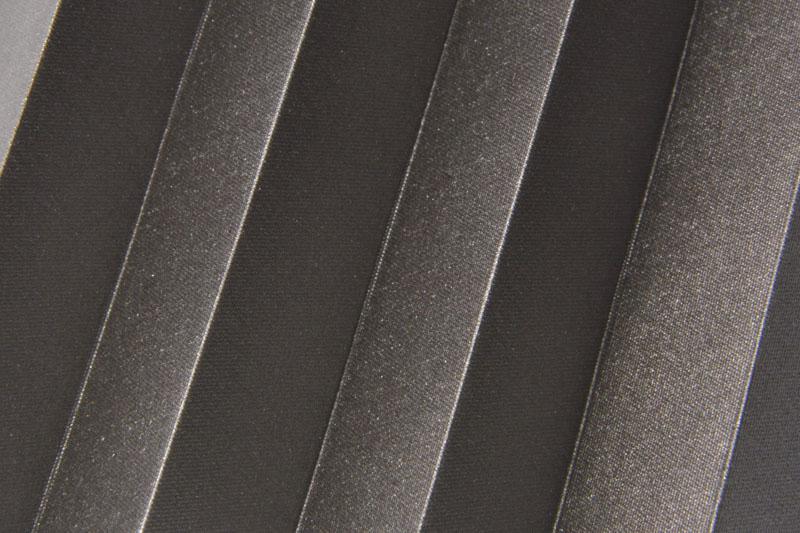 Plissee Dunkelbraun Shine-1052 Maßanfertigung