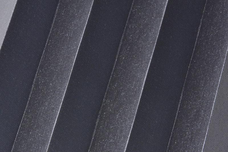 Plissee Anthrazit Shine-1053 Maßanfertigung