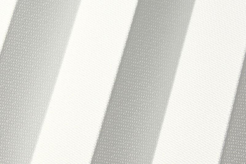 Plissee Weiß Stockholm-7360 Maßanfertigung