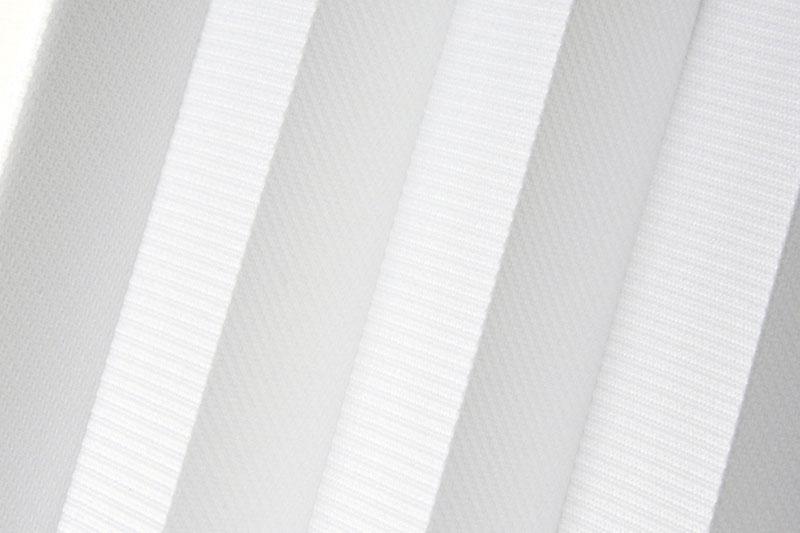 Plissee Weiß Syncro-1029 Maßanfertigung